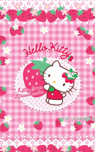 可爱hello kitty手机壁纸