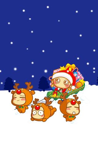可爱嘻哈猴动漫iphone手机壁-zol手机壁纸
