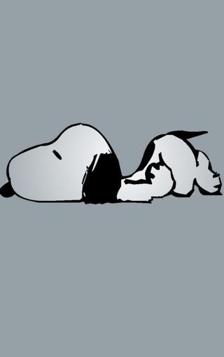 可爱小狗史努比iphone4s手机图片壁纸; 可爱小狗史努比