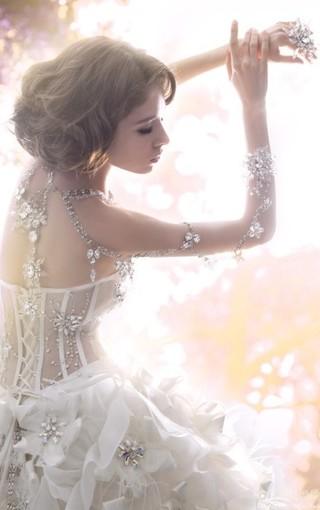 浪漫婚纱手机壁纸
