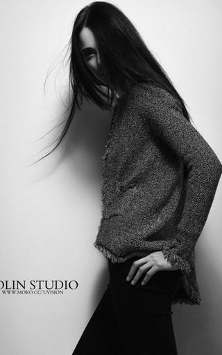 时装欧美模特写真