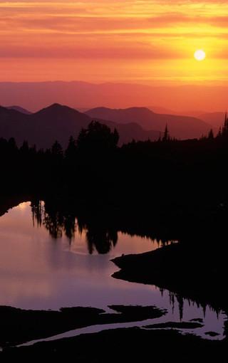 风景壁纸 自然风景壁纸 日出日落手机壁纸下载