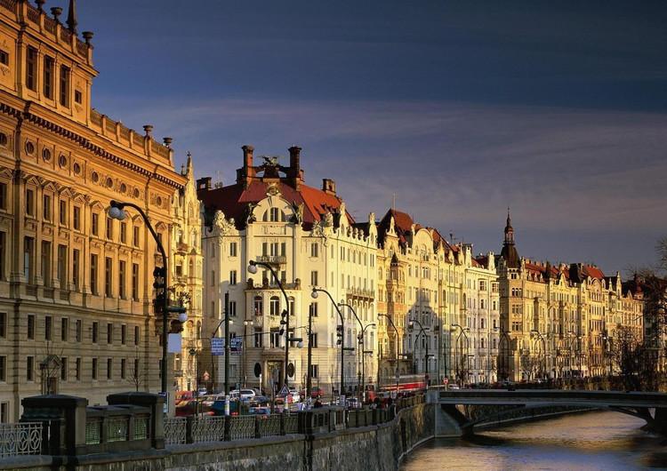 布拉格都市风景手机壁纸