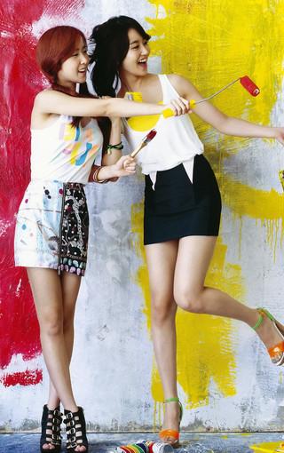 crayon pop 韩国美女组合手机壁纸