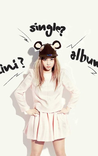 韩国女歌手明星李夏怡壁纸