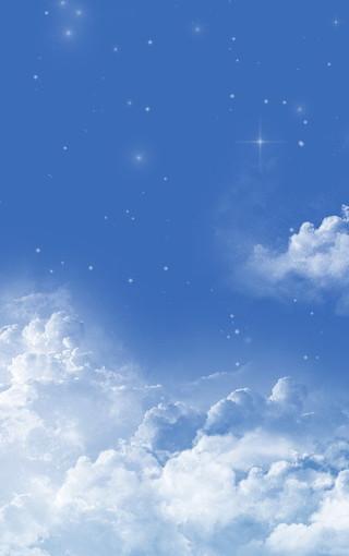 蓝天白云手机壁纸下载