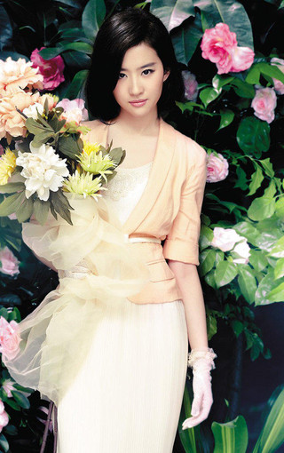 清纯美女明星刘亦菲壁纸