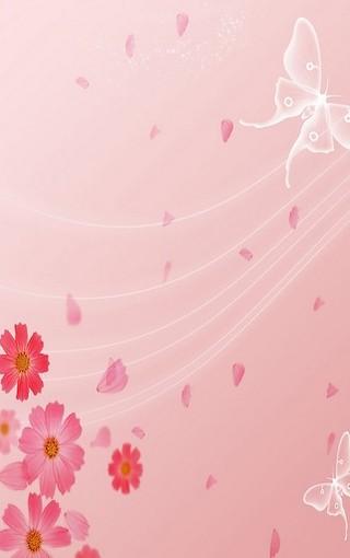 适合女孩的粉红系列手机壁纸