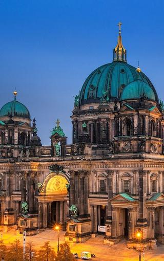 德國柏林唯美夜景手機壁紙