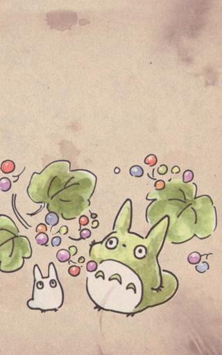 可爱龙猫手机壁纸下载