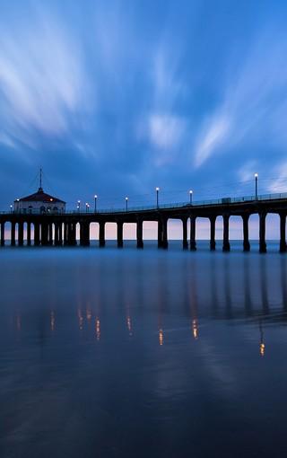 码头唯美风景高清桌面壁纸