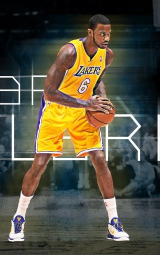NBA洛杉矶湖人手机壁纸