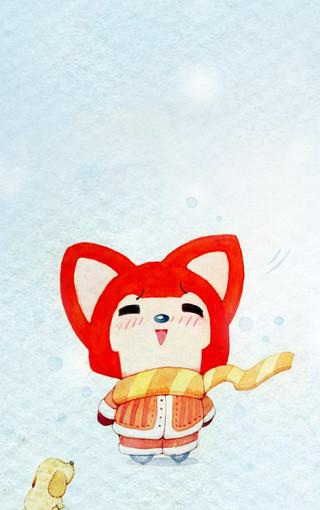 阿狸狐动漫手机壁纸下载图片