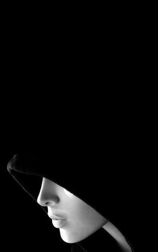 黑色魅惑手机壁纸