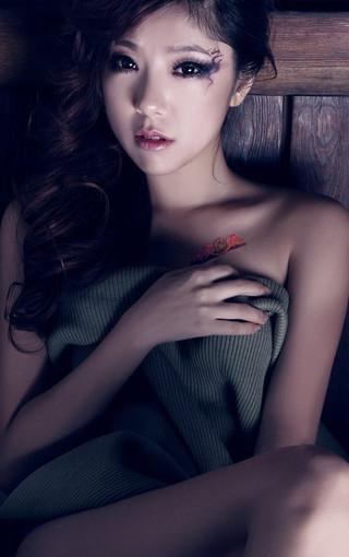 青春美女赵奕欢高清壁纸