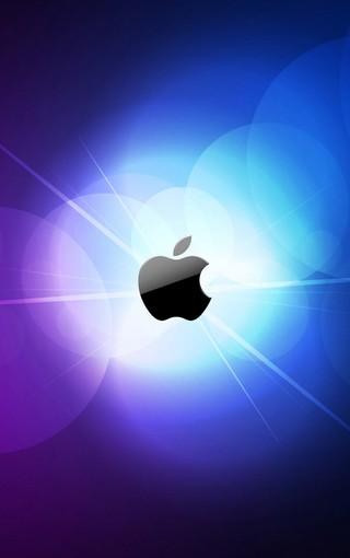 苹果logo创意高清手机壁纸图片