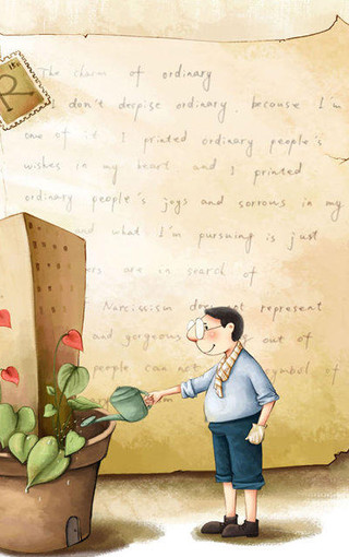 手绘卡通手机高清壁纸