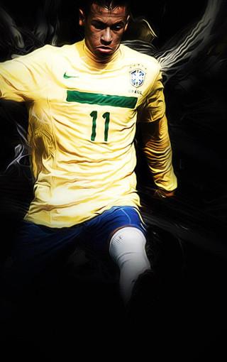 内马尔足球明星手机壁纸