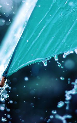清新夏天的雨桌面高清壁纸-zol手机壁纸