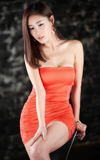 韩国美女黄仁智高清壁纸