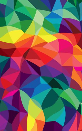 图形艺术创意iphone 5s手机壁纸