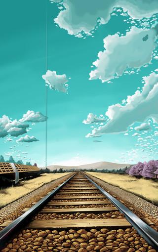 高清手绘风景壁纸-zol手机壁纸