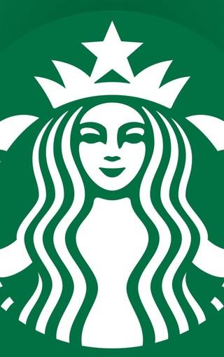 Starbucks >> Starbucks星巴克LOGO手机壁纸-ZOL手机壁纸