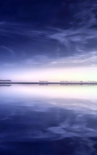 唯美海滩高清美景手机壁纸
