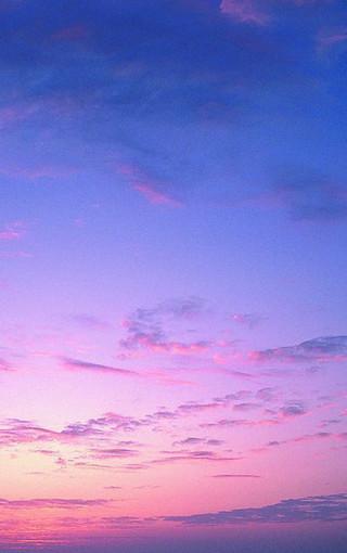唯美彩色天空高清手机壁纸