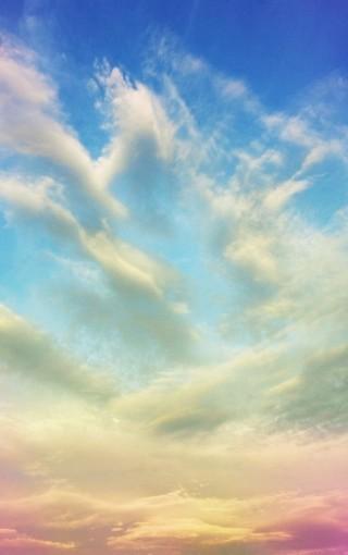 蓝色天空高清手机壁纸
