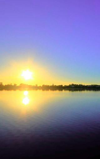 落日夕阳高清手机壁纸