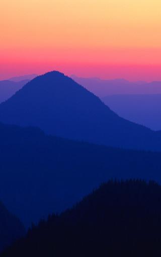 夕阳美景手机壁纸桌面