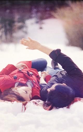 浪漫情侣高清手机壁纸