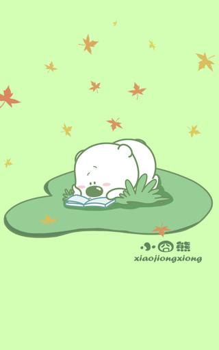 小囧熊超可爱手机壁纸(三)