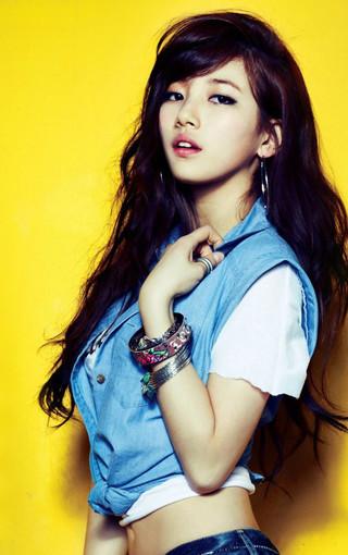 韩国明星裴秀智手机壁纸