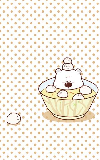 小囧熊超可爱手机壁纸(四)