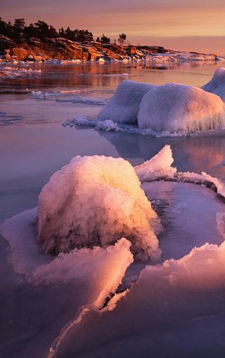 风景壁纸 高清风景壁纸 冰雪世界唯美手机壁纸图片