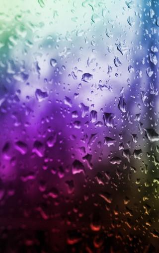 窗外的雨滴高清大图壁纸 第3页-zol手机壁纸