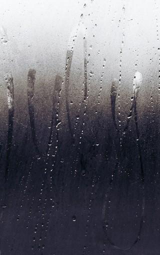 窗外的雨滴高清大图壁纸-zol手机壁纸