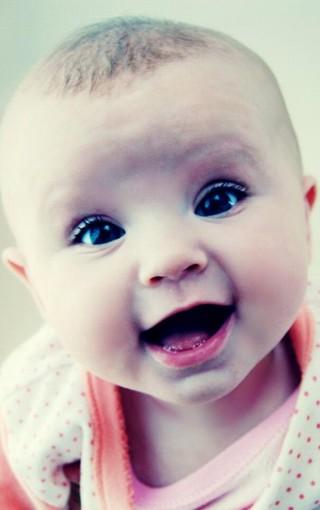 可爱小娃娃大图手机壁纸图片