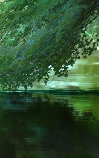 《言叶之庭》唯美手绘壁纸 第6页-zol手机壁纸