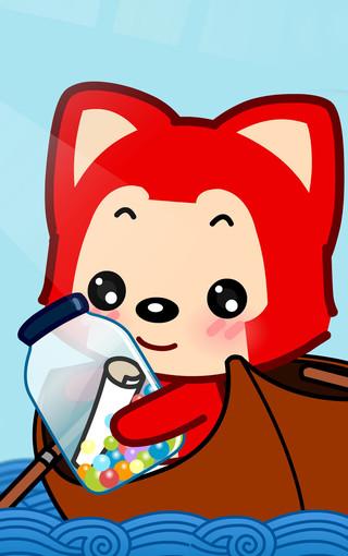 阿狸狐可爱大图手机壁纸图片
