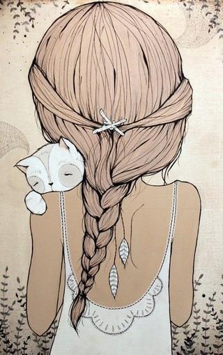 手绘可爱大图壁纸