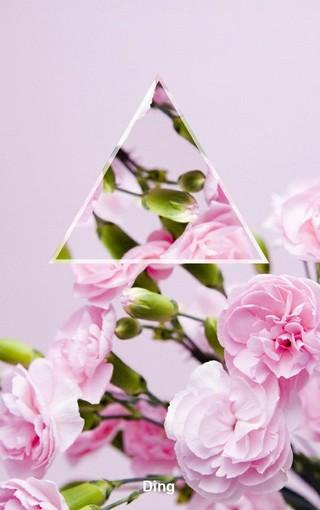 创意三角风景大图壁纸