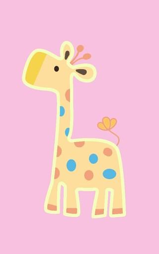 可爱长颈鹿手机壁纸 第2页-zol手机壁纸
