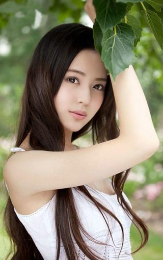 夏日清纯长发美女壁纸