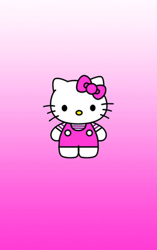 kitty可爱高清手机壁纸