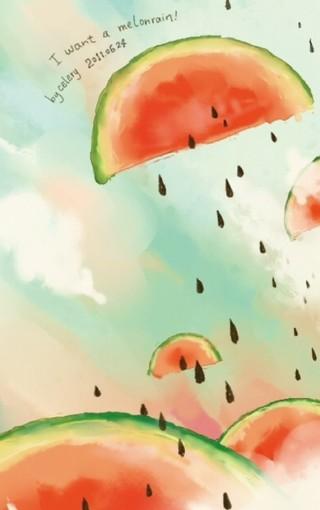 可爱西瓜高清手机壁纸