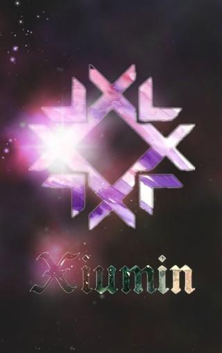 EXO锁屏LOGO壁纸图片