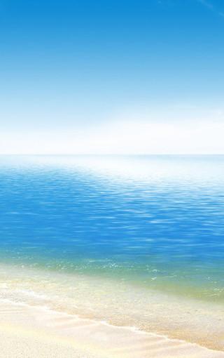唯美大海手机桌面图片
